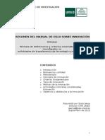 5 Manual de Oslo Sobre Innovación Resumen