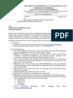 Surat Informasi Pelaksanaan Ogn Propinsi-2018
