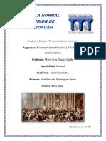 Proyecto Final El conocimiento histórico