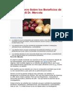 Lo Más Nuevo Sobre Los Beneficios de Las CebollaS