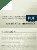 UNIDAD 4 Estratigrafia y Tiempo Geologico
