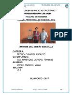 Informe Diseño de Marshal Imprimir