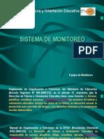 Supervisión, Monitoreo y Acompañamiento 2009