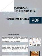 BREVE HISTORIA DE LOS PRIMEROS HABITANTES DEL ECUADOR