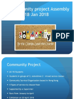 Y8 CP Assembly 18 Jan 2018