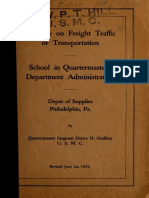 Lectures on Freight (1932)