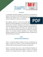 5. Reglamento Disciplinario Del MBF