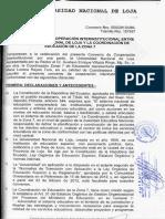Convenio Macro Unl y Coordinación de Educación de La Zona 7
