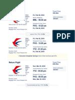 Departing Flight