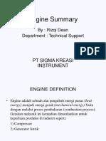 Engine Summary