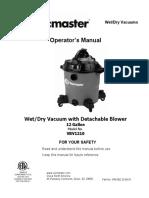 DUST - VBV1210 manual