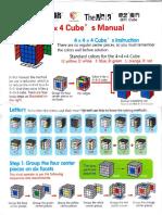 4x4x4 Cube's Manual