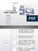 Caso Práctico Farmacia San Carlos; Grupo 3