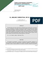 El Analisis Conductual en El Peru - Benites