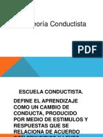 Teoria Conductista y Cognitiva