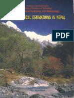 Hydrologic Estimationd in Nepal By KP Sharma & NR Adhikari.pdf
