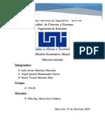 Modelo Económico de Brasil