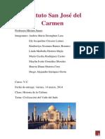 Informe Civilizacion Del Valle Del Indo