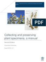 Plant Specimens Collecting Manual