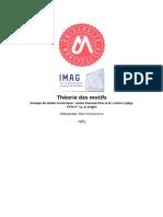 1958 1982 Theorie Des Motifs 13 Groupes de Galois Motiviques 1965