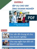 Chuong 4. Nghiep Vu Cho Vay KHDN (Ths Nguyen Van Minh)