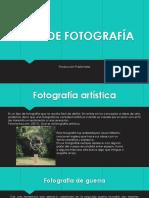 Tipos de Fotografía Prod Publicitaria Benjamin, Javier, Alfonso, Jesus