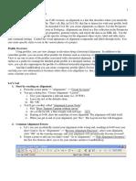Civil 3 d Alignments and Profil