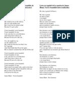 Letra de La Canción You
