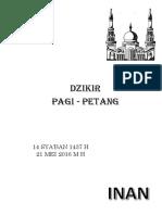 Cover Dzikir Pagi - Petang (Inan)