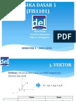 02. Slide Vektor - Minggu 1