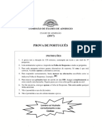 Exame de Portugues UP 2017