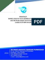 Sk & Pedoman Keselamatan Dan Kesehatan Kerja (k3) - Final Cetak 31 Agustus 2015