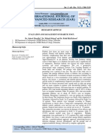 EVALUATION AND MANAGEMENT OF DIABETIC FOOT.