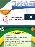 Peran Dokter Dan Koder Dalam Sistem Case Mix INA