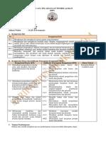 RPP PKWU 7 ASPEK Kerajinan Bahan Limbah Lunak