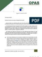 Carta Bienvenida 2010-11 Eco Escuela