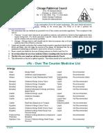 Otc Medicine Report