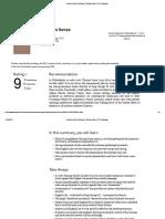 Common Sense Summary _ Thomas Paine _ PDF