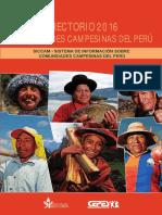 Directorio de Comunidades Campesinas Del Peru
