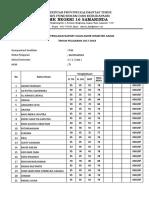 Format Nilai Kelas x