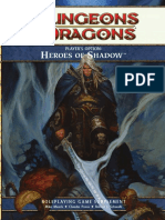 Player's Option - Heroes of Shadow