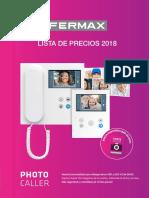 201801 Fermax Lista de Precios 2108 Pu01460