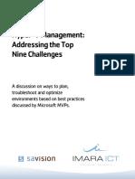 Hyper v Management White Paper