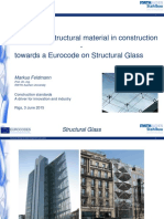 Glass as a Structural Material