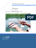 Fresh Water Prawn Farming Course