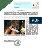 Comunicado 2 Asesinato de Santiago Ebee