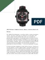 2018 TAG Heuer X Bamford Autavia, Monaco, & Carrera Replica de Relojes
