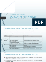 Guideline for Dummies 3G - CDR PS Fast Analyze