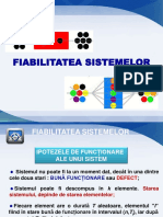 5. Fiabilitatea sistemelor