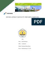 RESUME LAPORAN TAHUNAN PT.docx